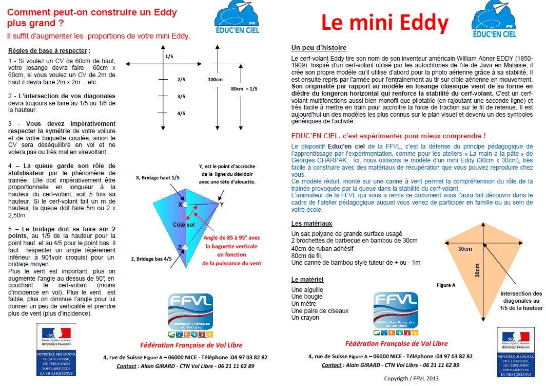 construire son mini eddy